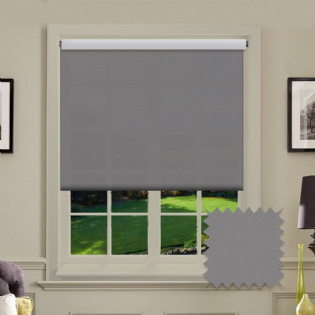 Grey Roller Blind - Astral Venom